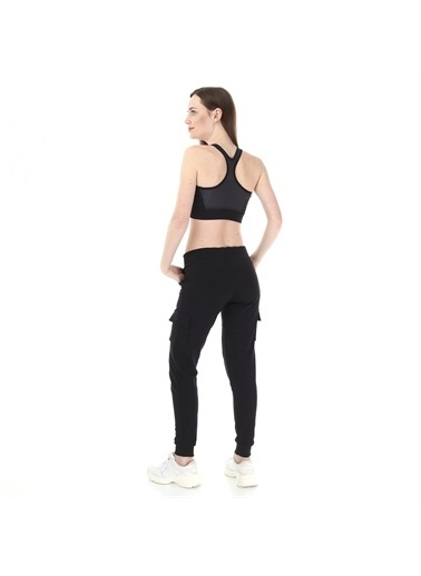 Kappa Kadın Cargo Sw-Pantolon Zabu  Siyah